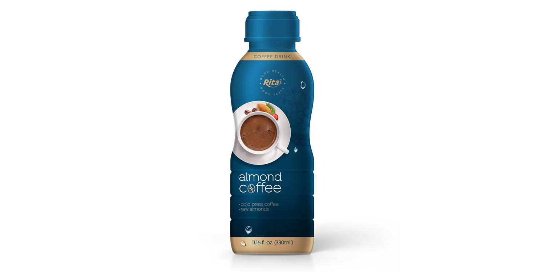 wholesale beverage almond Coffee 330ml in PP Bottle