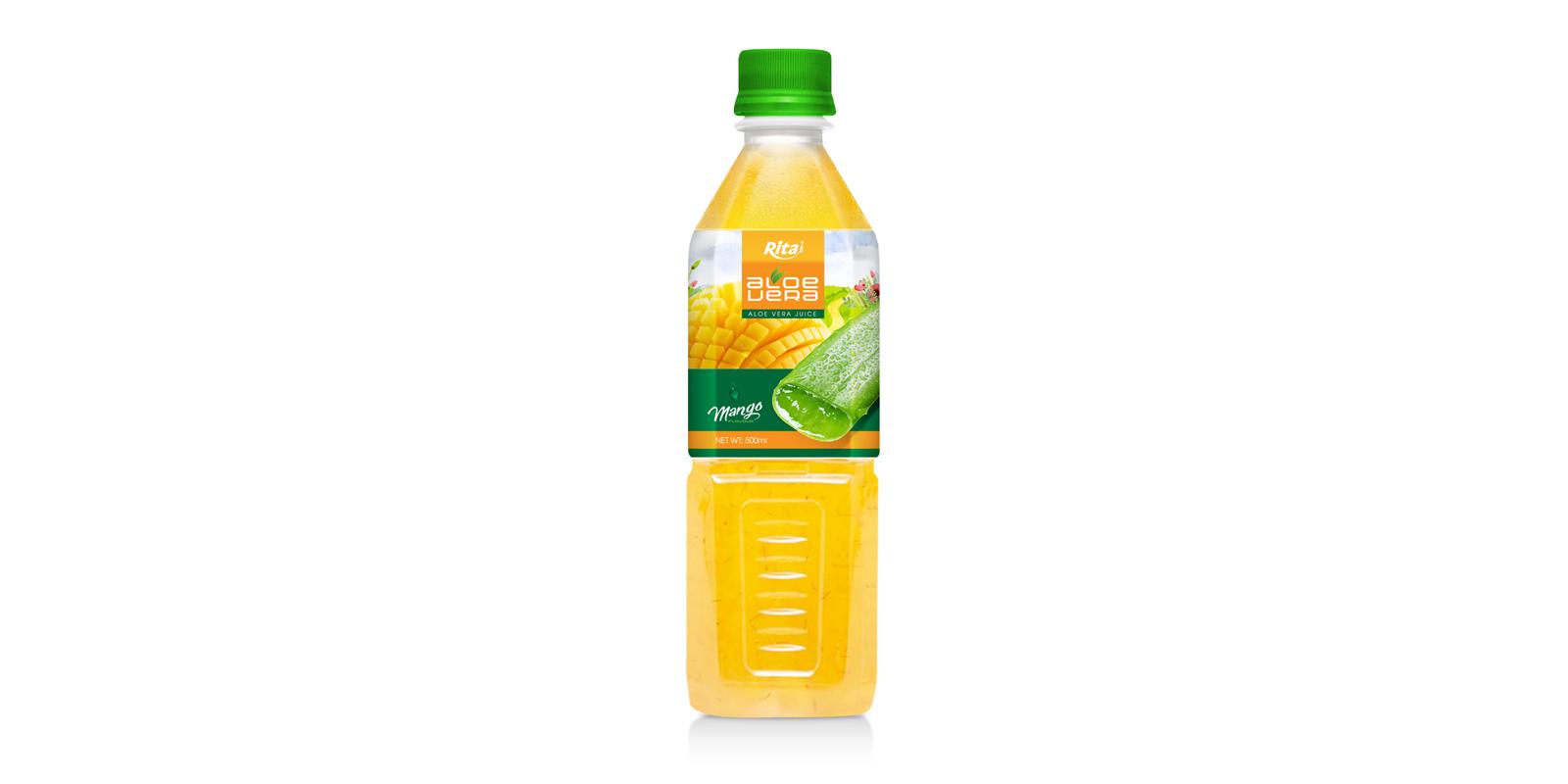 Aloe vera with mango juice 500ml Pet bottle
