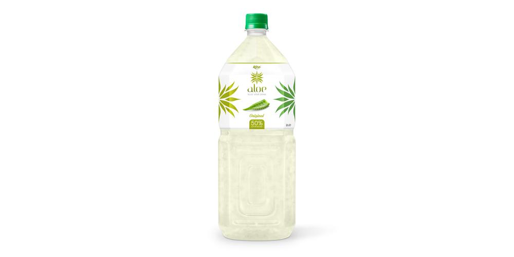 Natural aloe vera  2000ml Pet bottle