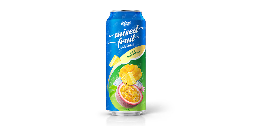 Beverage distributors mix fruit juice 500ml