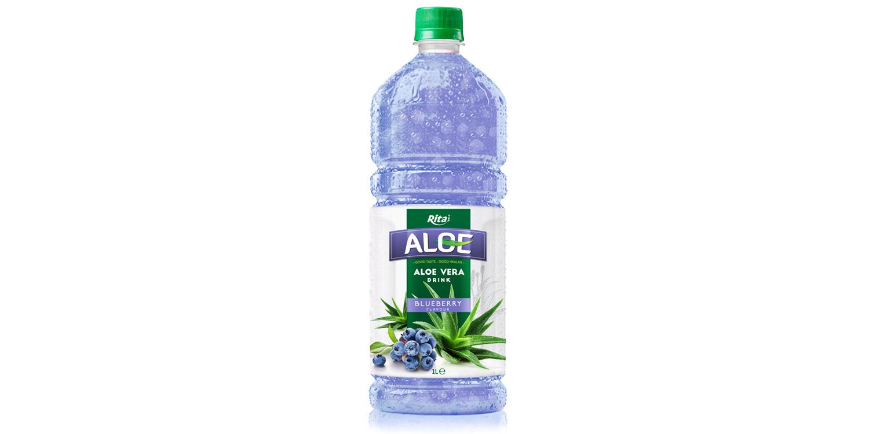 aloe vera with blueberry  1L Pet bottle
