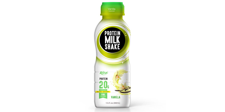 Healthy drinks Protein milk shake  flavour vanilla