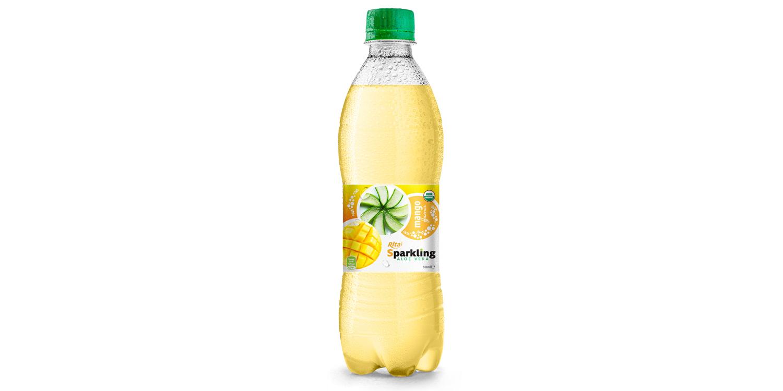 Beverage wholesale Sparkling  aloe vera  mango 500ml