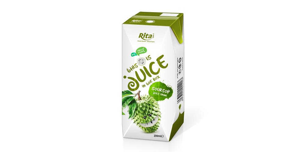 packaging solutions fruit soursop juice in aseptic