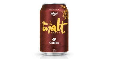 Malt drink coffee flavor 330ml from RITA beverage