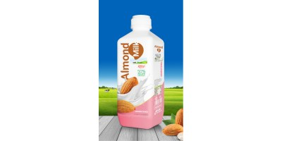 Almond milk drink no sugar 1000ml PP bottle from RITA US