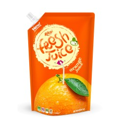 Bag orange juice 500ml of RITA US