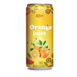250ml Orange juice drink from RITA US