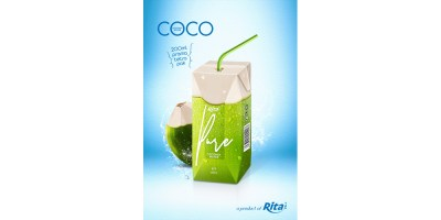 Tetra pak Coconut 200ml from RITA US