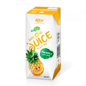 packaging solutions fruit pineapple juice in aseptic